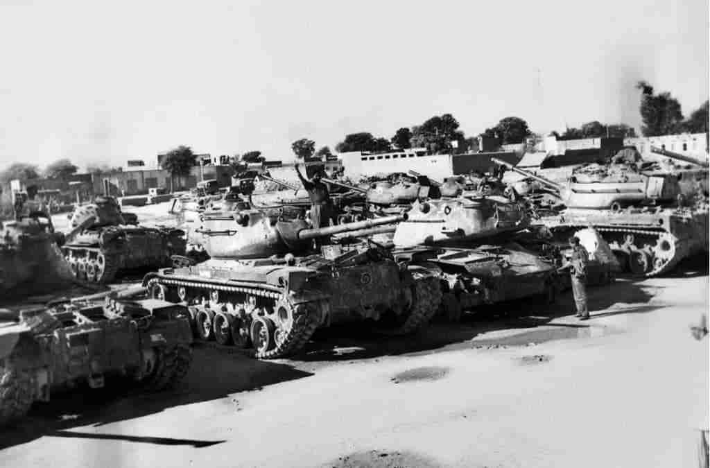 PHILLORA AND ASAL UTTAR TWO HISTORIC TANK BATTLES OF THE WAR