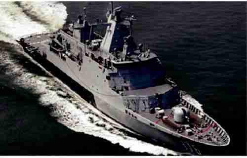 navy ship salute