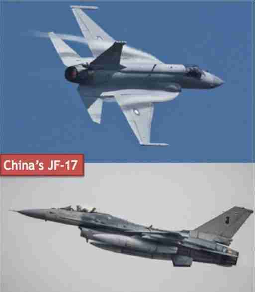 Tejas and JF-17