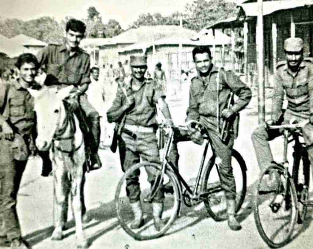 The Jangi Paltan employed all means available to reach Dacca