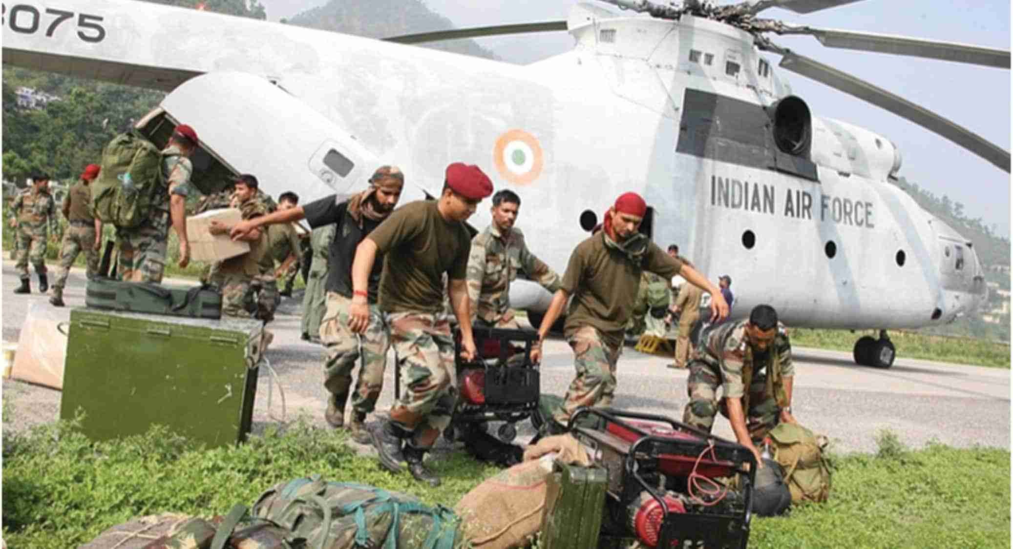 Indian Air Force-rescue operation